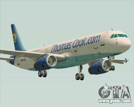 Airbus A321-200 Thomas Cook Airlines for GTA San Andreas