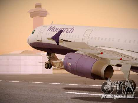 Airbus A321-232 Monarch Airlines for GTA San Andreas