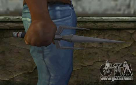 Knife from Deadpool for GTA San Andreas third screenshot