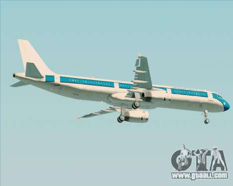 Airbus A321-200 American Pacific Airways for GTA San Andreas side view
