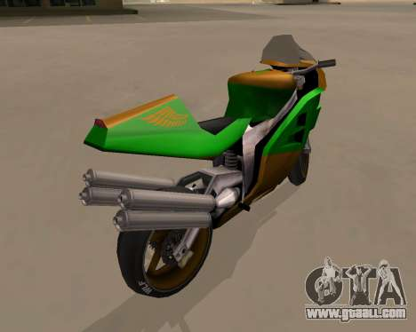 NRG-500 Winged Edition V.1 for GTA San Andreas right view