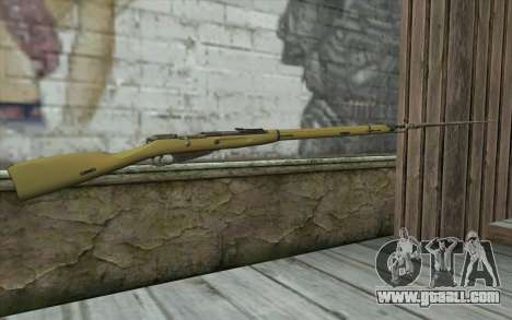 The Mosin-v15 for GTA San Andreas second screenshot