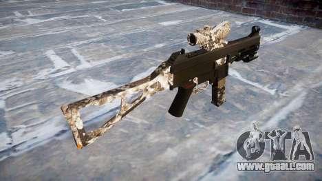 Gun UMP45 Viper for GTA 4 second screenshot