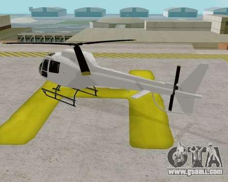 Buckingham Maverick V1.0 for GTA San Andreas back left view