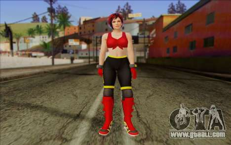 Mila 2Wave from Dead or Alive v7 for GTA San Andreas