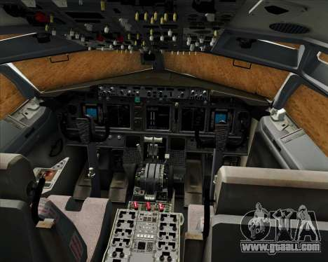 Boeing 737-800 EG&G - Janet for GTA San Andreas interior