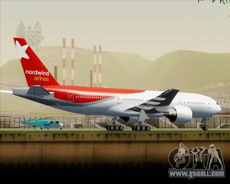 Boeing 777-21BER Nordwind Airlines for GTA San Andreas interior