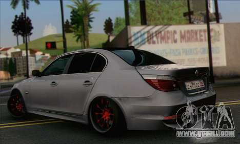 BMW M5 Stanced for GTA San Andreas left view