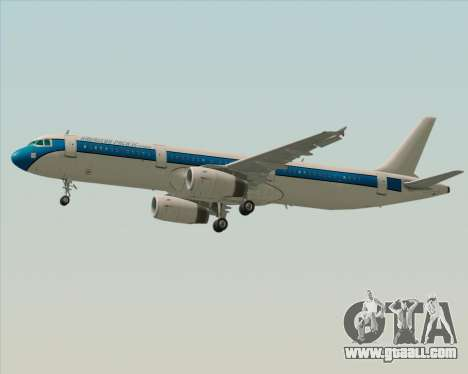 Airbus A321-200 American Pacific Airways for GTA San Andreas inner view