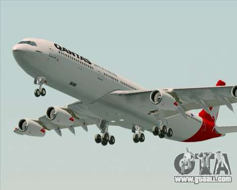 Airbus A340-300 Qantas for GTA San Andreas engine