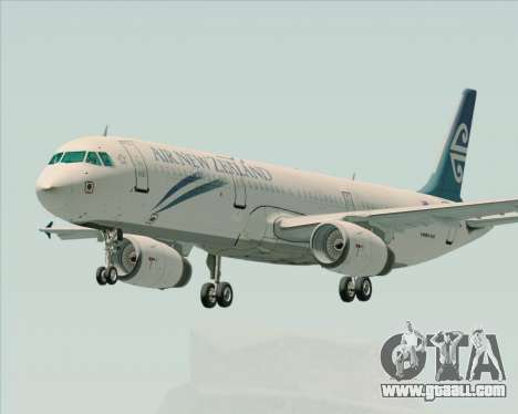 Airbus A321-200 Air New Zealand for GTA San Andreas