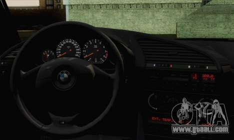 BMW M3 E36 Tuned for GTA San Andreas back left view