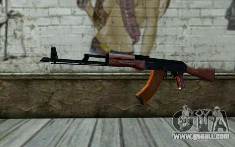 АКМ from Half - Life Paranoia for GTA San Andreas