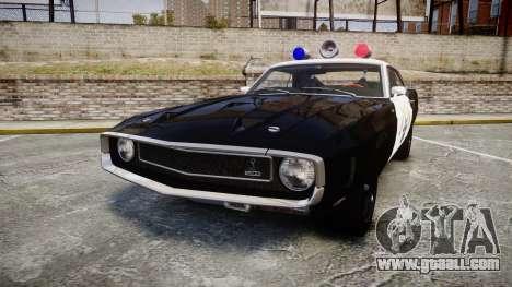 Shelby GT500 428CJ CobraJet 1969 Police for GTA 4