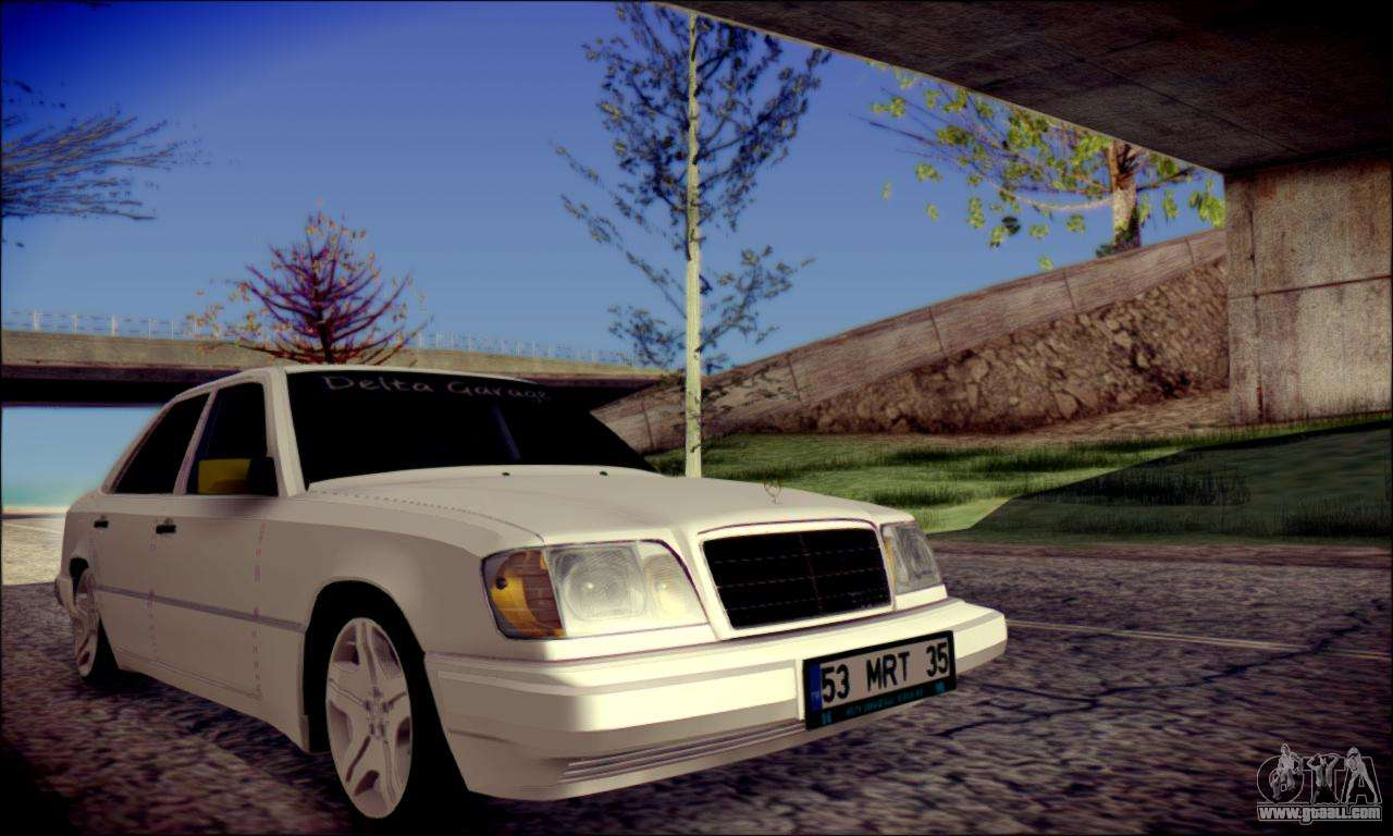 mercedes benz e320 delta garage for gta san andreas. Black Bedroom Furniture Sets. Home Design Ideas