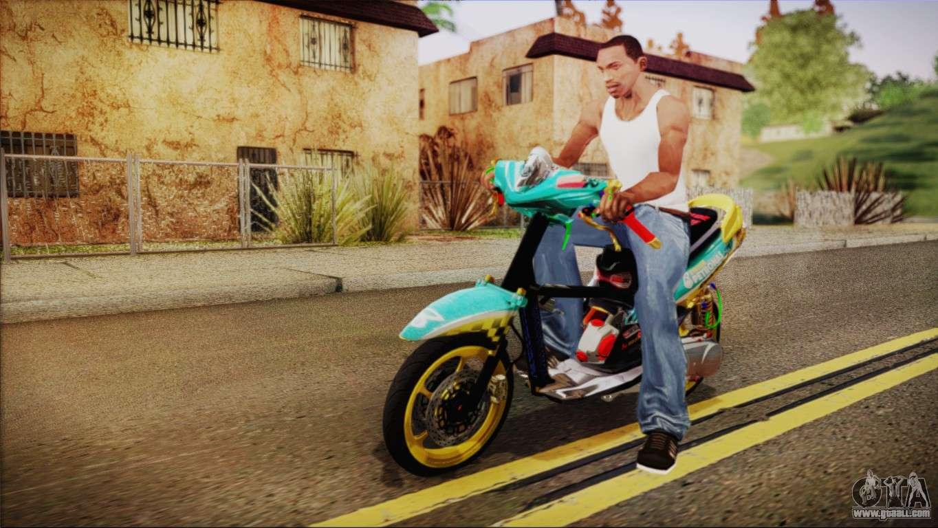 Yamaha Rxz Mod Gta San Andreas