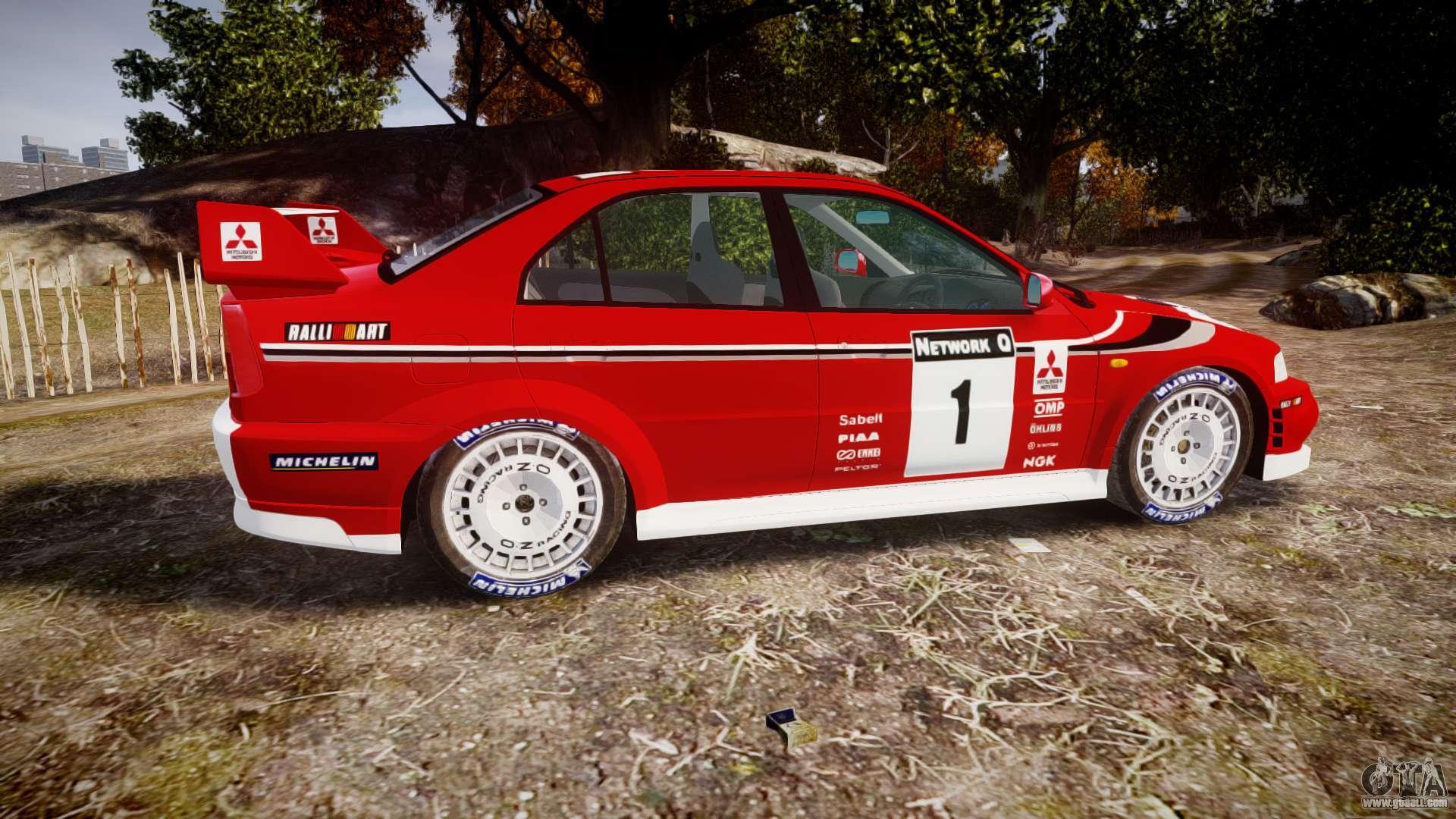 Mitsubishi Lancer Evolution Vi Rally Marlboro For Gta 4