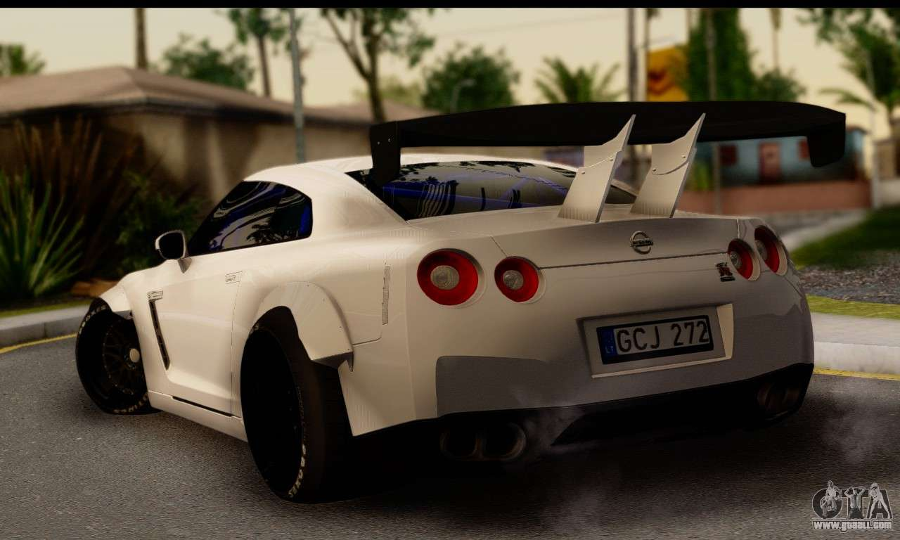 nissan gtr tuning for gta san andreas. Black Bedroom Furniture Sets. Home Design Ideas
