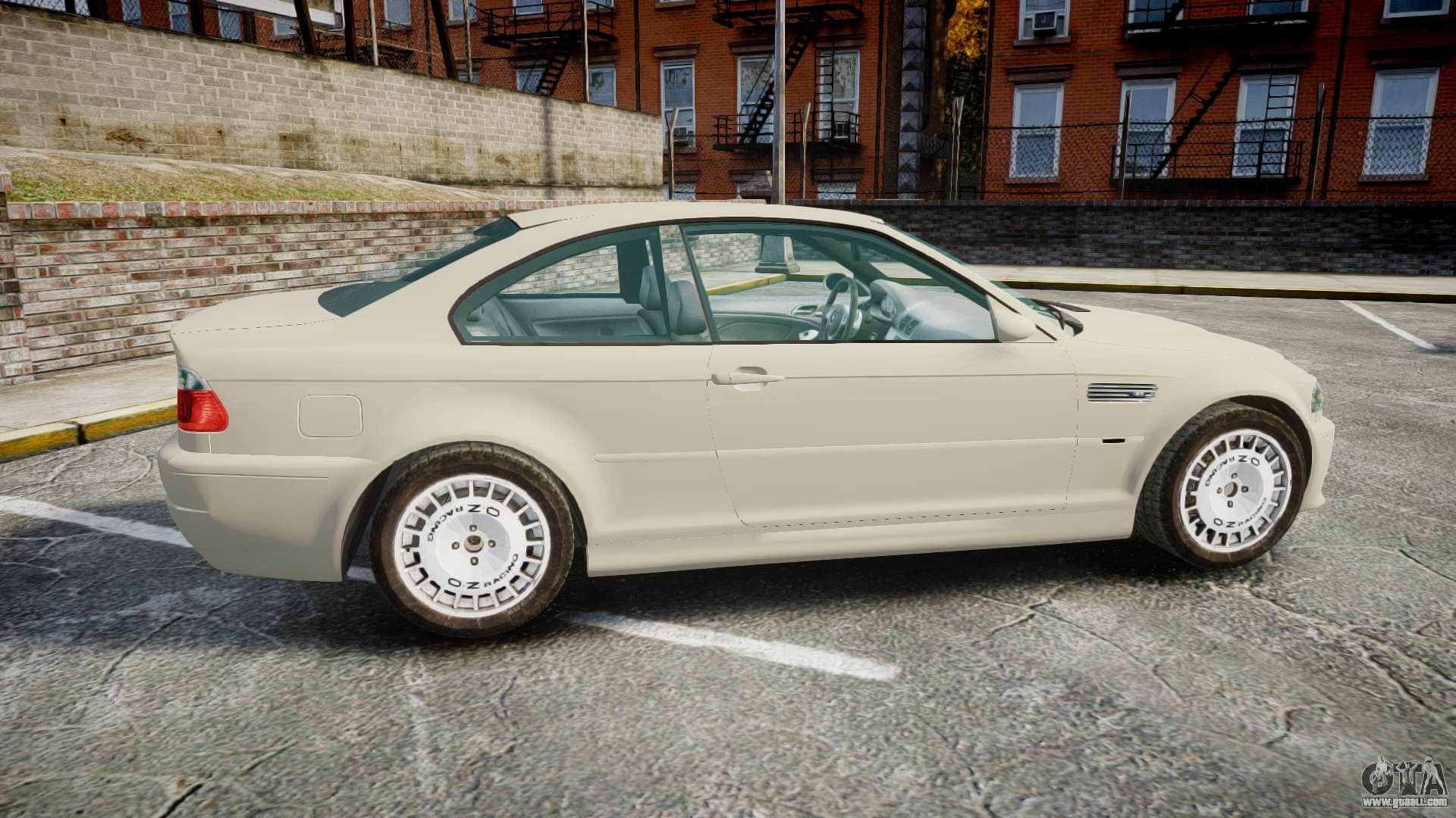 Bmw M3 E46 2001 Tuned Wheel White For Gta 4