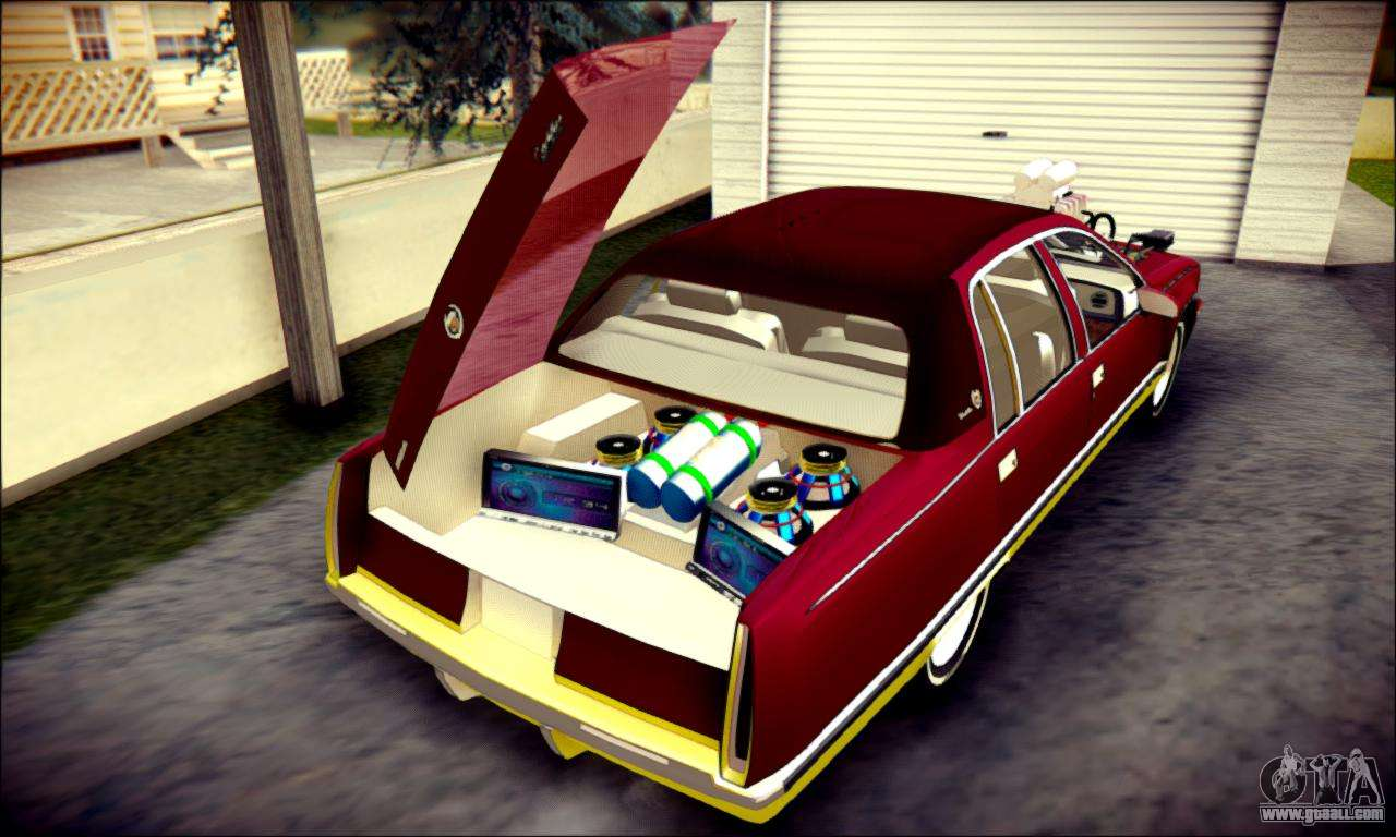 cadillac fleetwood 1993 lowrider for gta san andreas. Black Bedroom Furniture Sets. Home Design Ideas