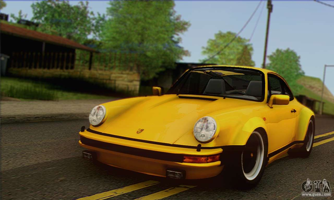 porsche 930 turbo look 1985 tunable for gta san andreas. Black Bedroom Furniture Sets. Home Design Ideas