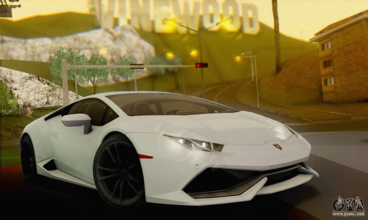 lamborghini huracan 2014 for gta san andreas. Black Bedroom Furniture Sets. Home Design Ideas