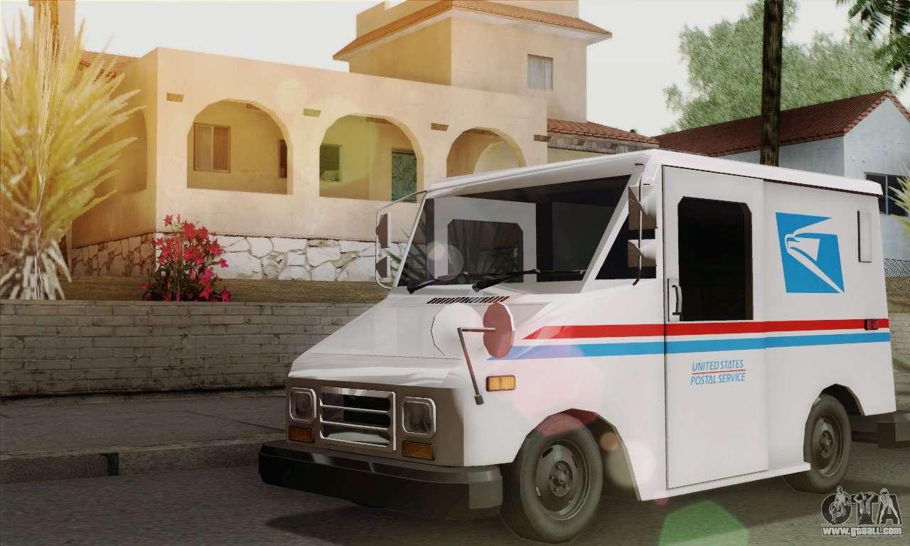 Llv Mail Truck Fuel Filter Wiring Diagram Grumman For Gta San Andreas