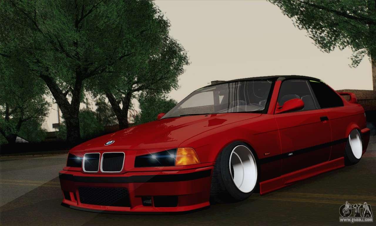 6 Passenger Vehicles >> BMW M3 E36 Tuned for GTA San Andreas