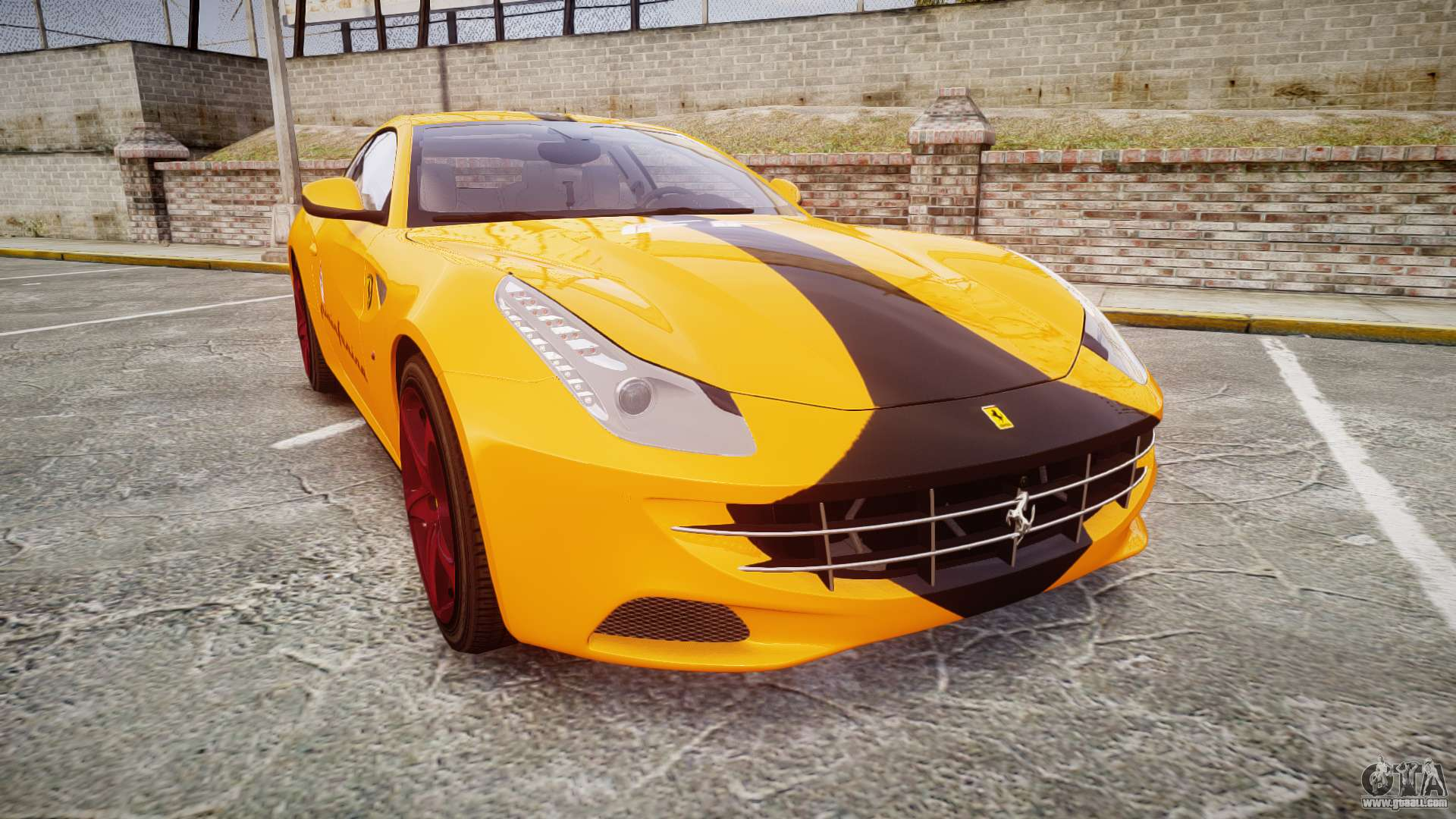 Ferrari FF 2012 Pininfarina Yellow for GTA 4