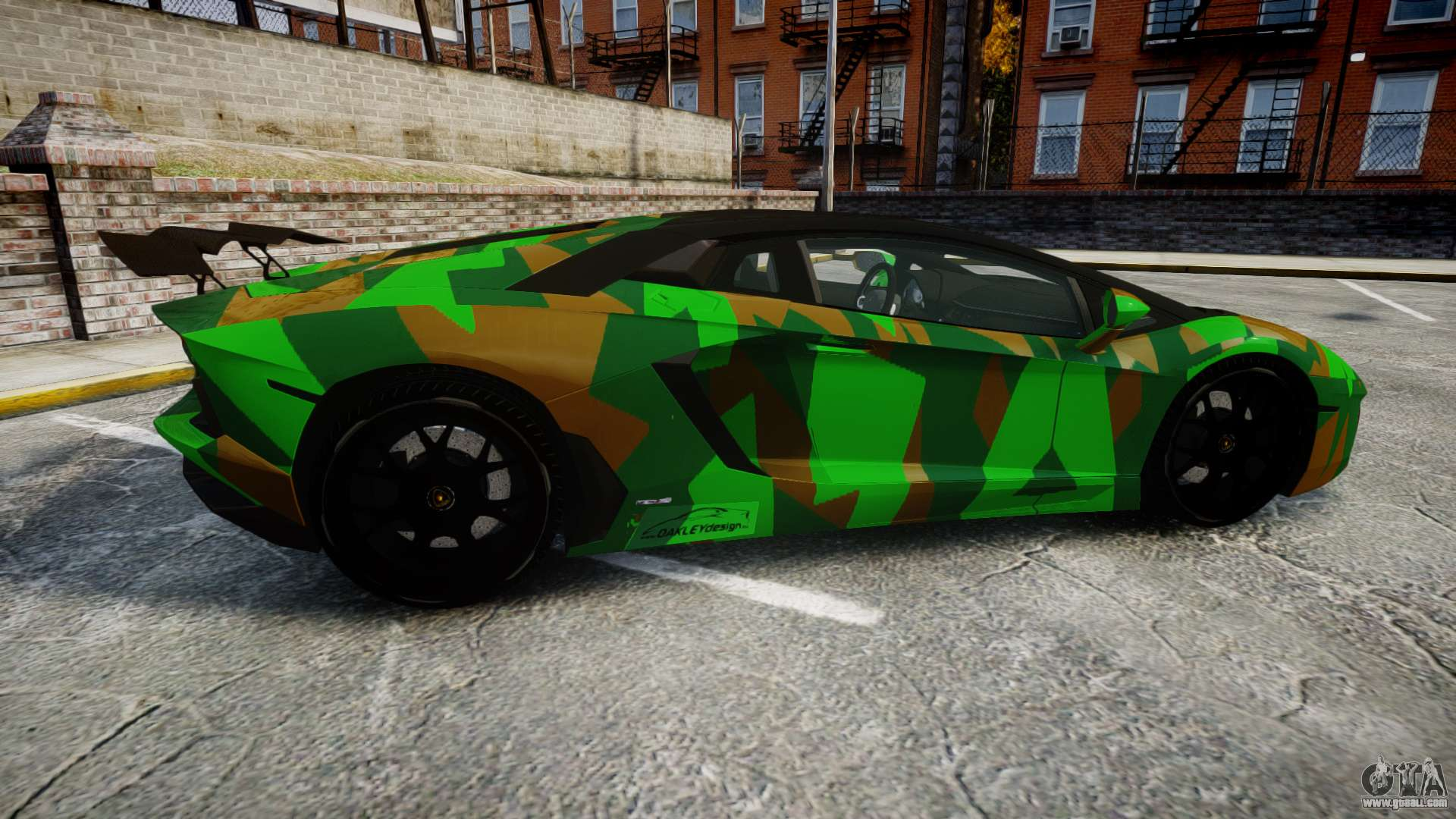 Lamborghini Aventador Lp760 4 Camo Edition For Gta 4