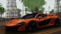 McLaren P1 Black Revel