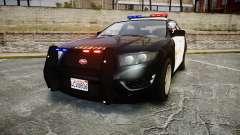 GTA V Vapid Interceptor LSS Black [ELS]