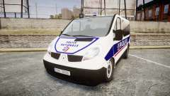 Renault Trafic Police Nationale for GTA 4