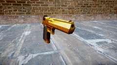 Gun IMI Desert Eagle Mk XIX Gold