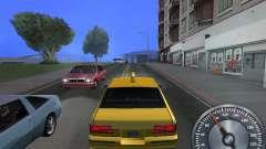 Classic metal speedometer for GTA San Andreas