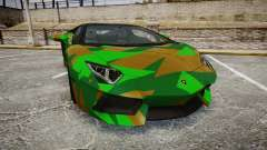 Lamborghini Aventador LP760-4 Camo Edition for GTA 4