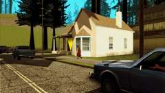 New CJ house in Angel Pine for GTA San Andreas