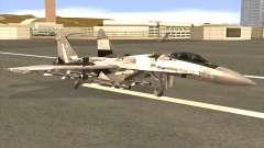 Sukhoi SU-35 BF3 for GTA San Andreas