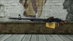 The Machine Gun Kalashnikov Modernized