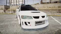 Mitsubishi Lancer Evolution VIII Stance for GTA 4