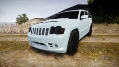 Jeep Grand Cherokee SRT8 stock for GTA 4