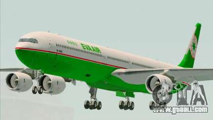 Airbus A340-600 EVA Air for GTA San Andreas