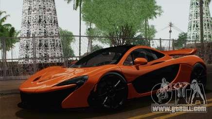 McLaren P1 Black Revel for GTA San Andreas