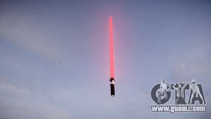 Laser sword for GTA 4