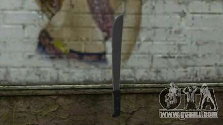 Machete (DayZ Standalone) v2 for GTA San Andreas