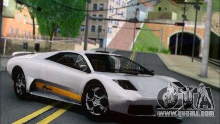 GTA 5 Infernus for GTA San Andreas
