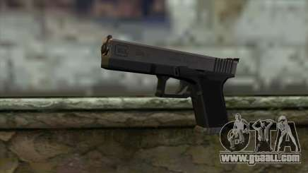 Glock from Half - Life Paranoia for GTA San Andreas