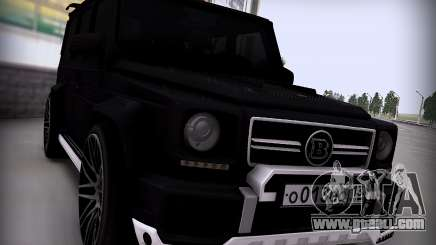 Brabus 800 for GTA San Andreas