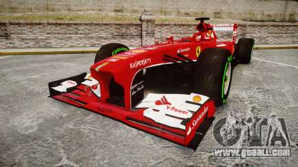 Ferrari F138 v2.0 [RIV] Alonso TIW for GTA 4