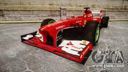 Ferrari F138 v2.0 [RIV] Alonso TIW for GTA 4